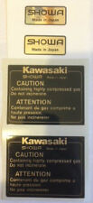 KAWASAKI Z1100R EDDIE LAWSON REPLICA SHOWA REAR SHOCK ABSORBER DECALS X 2