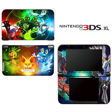 Vinyl Skin Decal Cover for Nintendo 3DS XL LL - Pokemon X Y Special Edition