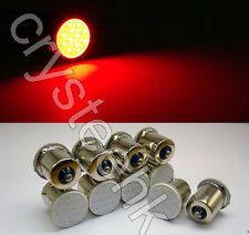 10x 1156 BA15S P21W COB LED Tail Signal Light Car High Brightness Lamp Red Bulb