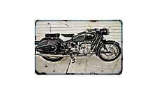 Bmw R50S Motorbike A4 photo Retro Bike