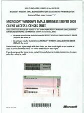 Microsoft Windows Small Business Server 2008 Client Access 1 User Cal X14-77409