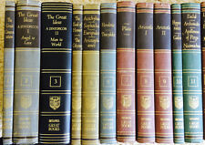 1952 Britannica GREAT BOOKS of the WESTERN WORLD: Volumes Sold INDIVIDUALLY