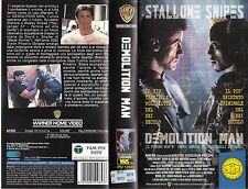 Demolition Man (1993) VHS
