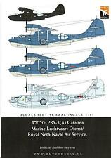 Dutch Decals 1/32 CONSOLIDATED PBY-5A CATALINA Netherlands Navy
