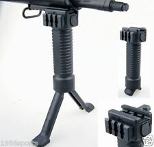 Special Foregrip Picatinny QD System Weaver Mount Bipod Grip 20mm Rail Bipod #10