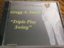 TRIPLE PLAY SWING,  GREGG A. SMITH   (NEW SEALED CD)