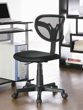 Casual Black Mesh Computer Office Task Chair by Coaster 800055K