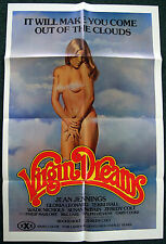 VIRGIN DREAMS - 1977 ADULT X-RATED Original Movie Poster-Near Mint!