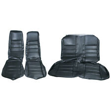 Mustang Upholstery Full Set Black Standard Interior Coupe 1971