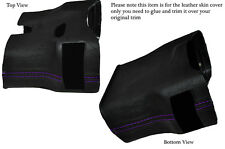 PURPLE STITCH STEERING SHROUD LEATHER COVER FITS PORSCHE 986 BOXSTER&CARRERA 996