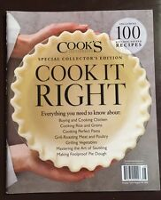 Cook's Illustrated Special Collector's Edition Cook It Right 2015 FREE SHIPPING!