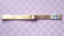 BRACELET MONTRE ACIER  /  / WATCH BAND 14mm  DORÉ  REF.CU21
