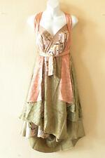 """M639 Reversible Vintage Silk Magic 30"""" Length Wrap Skirt Halter Tube Dress + DVD"""