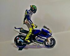1:12 Set Minichamps Bike + Conversion Figure Valentino Rossi 2013 Mugello UNIQUE
