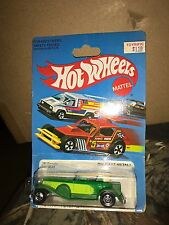 vintage Mattel Hot Wheels '31 DOOZIE green diecast toy car MOC MIP vehicle #9649