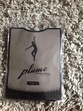 Plume Professional Dancewear Footed Dance Tights Size Small