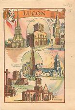 Cathédrale Notre-Dame-de-l'Assomption Luçon Vendée Cardinal Richelieu WWII 1939