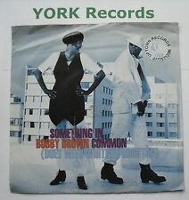 "BOBBY BROWN with WHITNEY HOUSTON - Something In Common - Ex Con 7"" Single MCA"