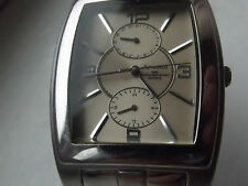 Amadeus 2 sub dials,date and second hand quartz watch,all stainless steel,WR50
