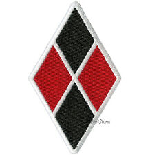SUICIDE SQUAD DC COMICS HARLEY QUINN DIAMOND Embroidered IRON ON Patch Badge