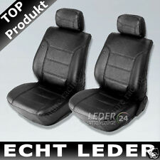 Seat covers Car real leather Seat cover black Nappa Leather Alfa Romeo 156