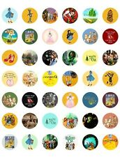 Wizard of Oz Themed PRINTABLE Bottle Cap Images~  42 Diff. Designs