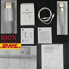 100x Genuine New Original Apple iPhone 6/6Plus/5S/5C/5 Lightning USB Data Cable