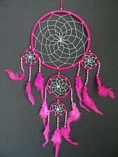 BEAUTIFUL NEW LARGE PINK DREAM CATCHER BEDROOM NURSERY WEDDING UK DREAMCATCHER