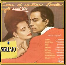 "COMPILATION "" COME SI CANTAVA L'AMORE NEGLI ANNI 60"" LP SIGILLATO ARISTON 1982"