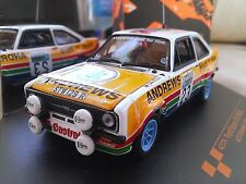 #23 1977 Ford Escort RS1800 RAC Heat for Hire Brookes Diecast Rally 1/43 Vitesse
