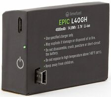 GoPro HERO Extended Battery Pack 4000mAh (Limefuel Epic L40GH) External Mini ...