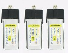Latest 3X Hyperion G3 330mAh 1S 3.7V 25C Lipo Battery For Blade mCPX mCPX2 mCP X
