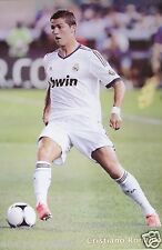 "REAL MADRID ""CRISTIANO RONALDO IN ACTION"" POSTER - Soccer UEFA League Football"