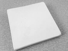 "SOLDERING BOARD CERAMIC FUSED SILICA 4.38"" X 4.38"" JEWELRY REPAIR WELD SOLDER"