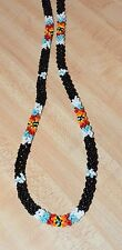 Cherokee Beaded Necklace Seed beads By Cherokee Artist T Spirit Pony