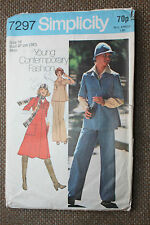 Simplicity Sewing Pattern Misses Pullover Dress or Top,Pants,Scarf & Hat Size 16