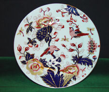 "Coalport Fine Bone China Hong Kong - Mauve Flowers- 8 1/8"" Salad Plate S83884G2"