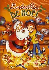 LE REVEILLON DE NOEL DVD DESSIN ANIME NEUF/CELLO