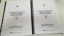 FERRARI 456 GT WORKSHOP MANUAL REPRINTED - WIRING DIAGRAMS ARE FOR THE 456M