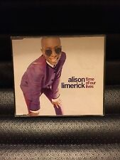 ALISON LIMERICK TIME OF OUR LIVES CD SINGLE 5 VERSIONS