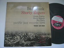 BUD SHANK VINYL LP SHORTY ROGERS BILL PERKINS HARRY BABASIN UK  VOGUE LAE 12020