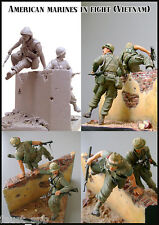 Evolution Miniatures EM-35035    American marines in fight (Vietnam)