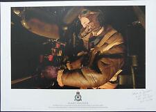 BOMBER COMMAND Signed 16x12 Ltd Ed Print WW2 AVRO LANCASTER  COA