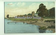 tp9367 - Devon - Shore View & Flimsy Jetty, of the Village of Axmouth - Postcard