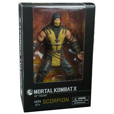 "MORTAL KOMBAT X SCORPION 12"" ACTION FIGURE MEZCO TOYS COLLECTIBLE TOY"