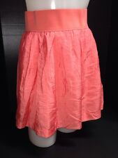 LaROK Full Circle Mini Short Skater Flare Skirt Elastic Waist Band XS