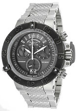 17619 Invicta 50mm Subaqua Noma III Swiss Quartz Chronograph SS Bracelet Watch
