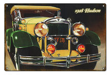 """Reproduced from Original Art by Bob Miller 1928 Hudson Sign. 12"""" x 18"""""""