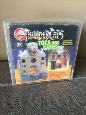 1986 Glasslite Thundercats Cat's Lair AFA 75 Mini fig Brazil Release Catslair!!