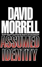 Assumed Identity by David Morrell (1993, Hardcover)